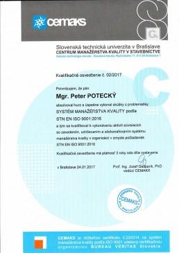 školenia Gardian kurz systém manažérstva kvality 9001
